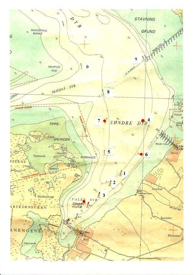 Sejlads kort